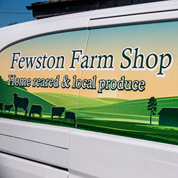 Fewston Farm Shop Van