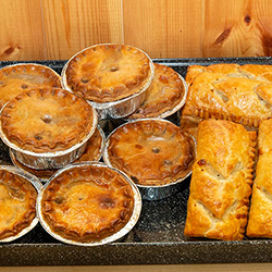 Fresh Homemade Pies & Sausage Rolls Everyday